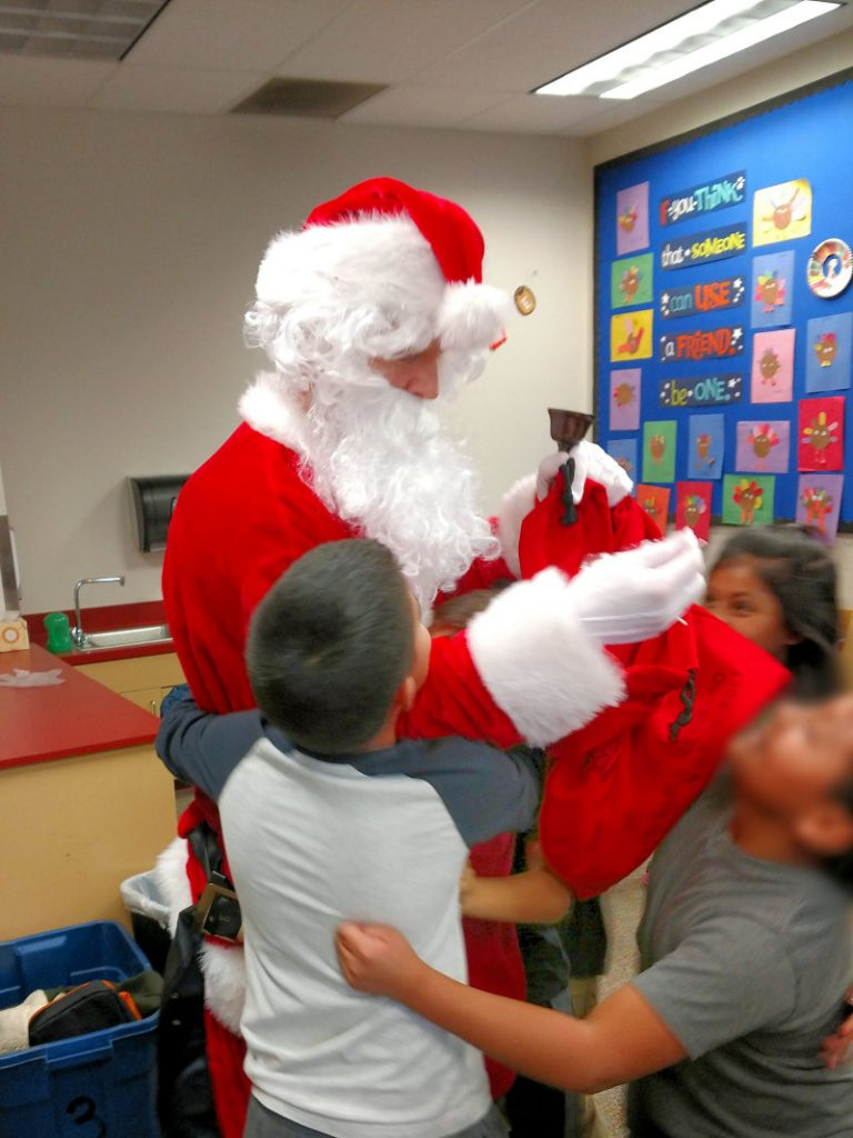 "Getting ""Much!"" much Getting ""Much"" of the Children Santa Hugs 72 Final OP"