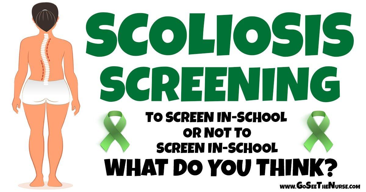 scoliosis screening scoliosis screening Scoliosis: In-School Screening or Not scoliosis header1