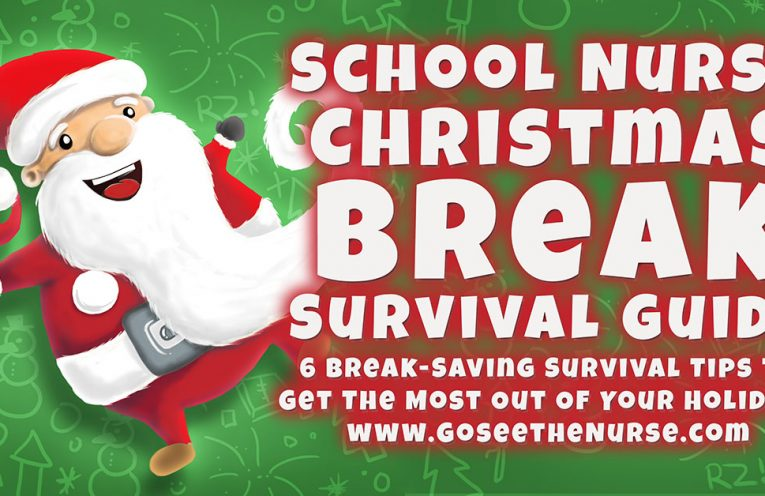 School Nurse Christmas Break Survival Guide, school nurse, nurse, Christmas, winter break, Christmas break, holiday break, new years, school break, holiday