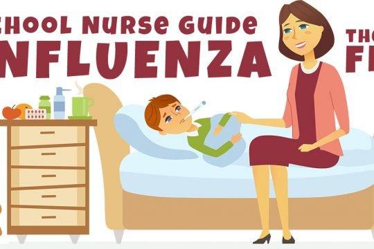 school nurse flu infuenza