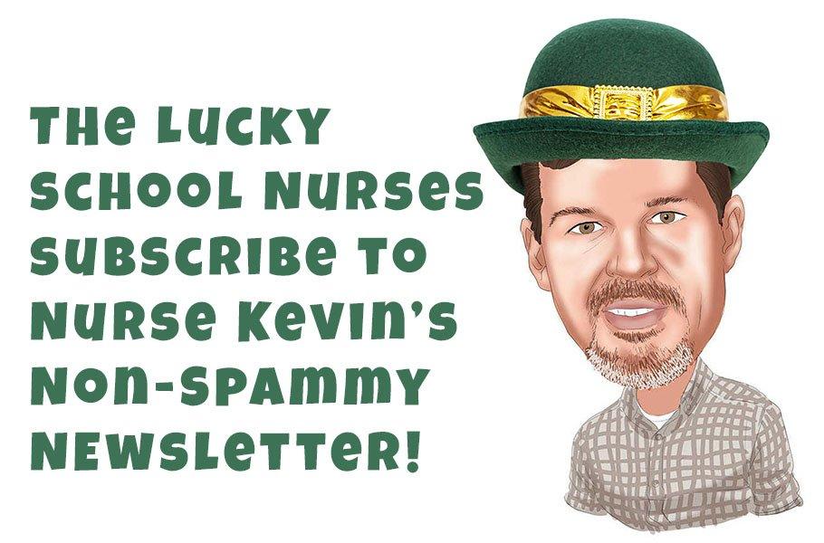 school nurse School Nurse Grey Gorilla lucky school nurse newsletter