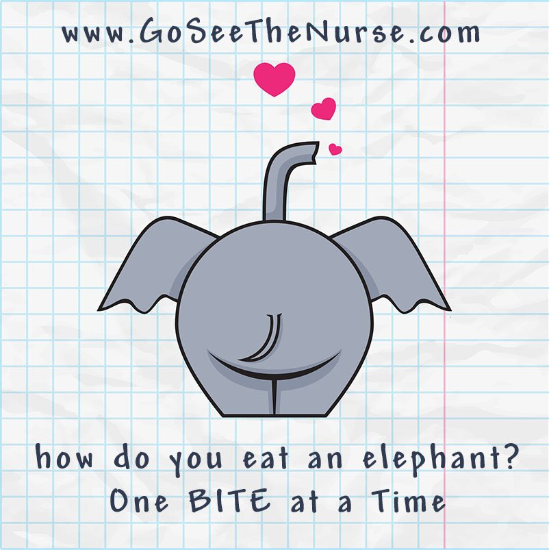 school nurse diabetes diabetic Motivating The Unmotivated Type 1 Diabetic elephant