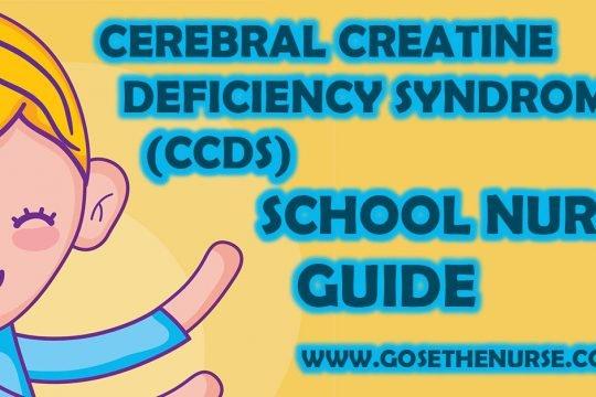 Cerebral Creatine Deficiency Syndromes (CCDS)