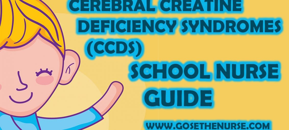 Cerebral Creatine Deficiency Syndromes (CCDS)